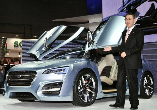 Subaru advenced touring concept w Tokio /AFP