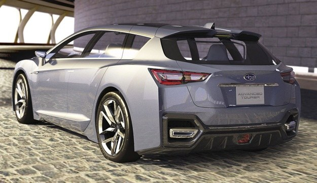 Subaru advenced touring concept w Tokio /