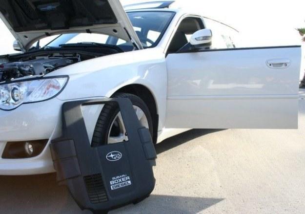 Subaru diesel - ruszyć takim to sztuka /INTERIA.PL