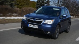 Subaru Forester 2.0i Platinum - test