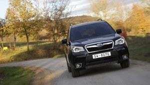 Subaru Forester - pierwsza jazda