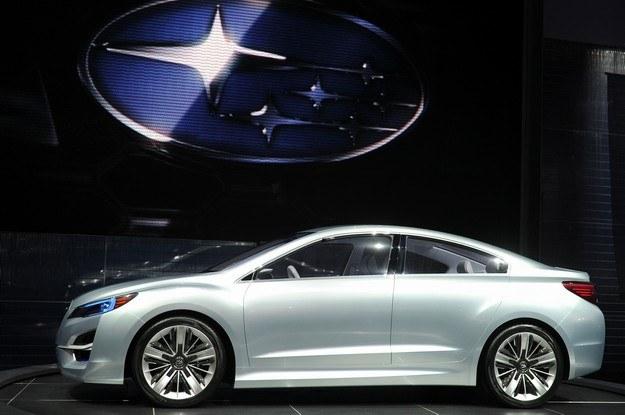 Subaru impreza concept /AFP