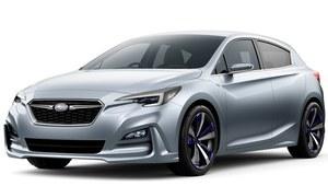 Subaru Impreza - nowy prototyp