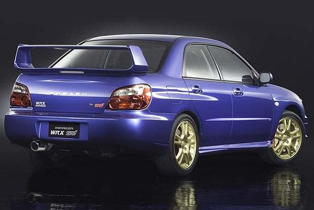 Subaru Impreza WRX / kliknij /INTERIA.PL