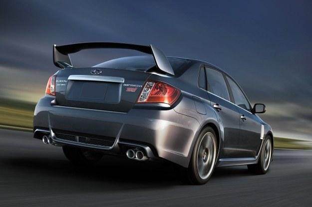Subaru impreza WRX STI sedan /