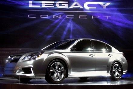 Subaru legacy concept /AFP