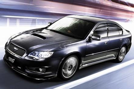 Subaru legacy STI / Kliknij /INTERIA.PL