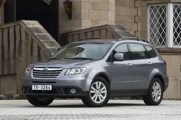 Subaru Tribeca po liftingu /