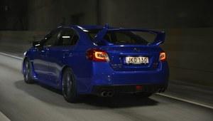 Subaru WRX STI - pierwsza jazda