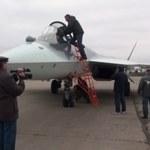 Suchoj T-50 wylądował pod Moskwą