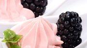 Sufleciki z serkiem i owocami