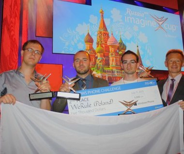 Sukces młodych Polaków w konkursie Imagine Cup 2013
