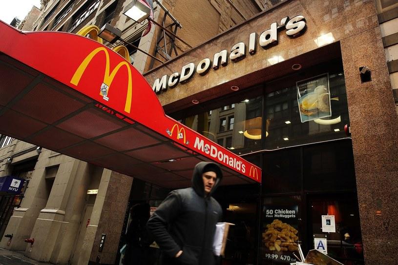 Sukces pracowników - McDonald's podnosi płace! /AFP