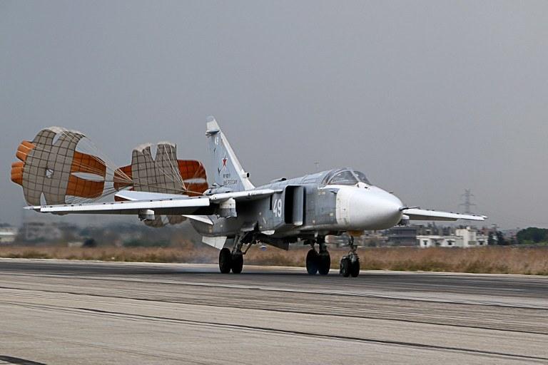 Sukhoi Su-24, zdj. ilustracyjne /AFP