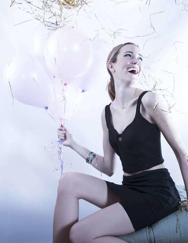 Sukienka jest stworzona dla osób lubiących dużo się bawić /38thandwick.com /INTERIA.PL
