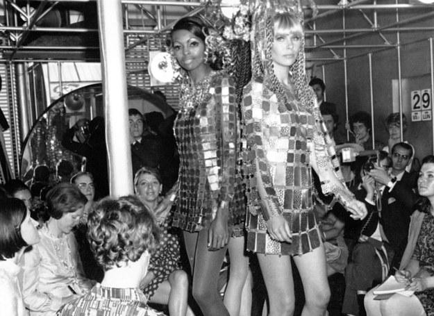Sukienka proj. Paco Rabanne 1968 /BODINI /East News