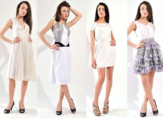 Sukienki z pracowni IMUNZI /INTERIA.PL/materiały prasowe
