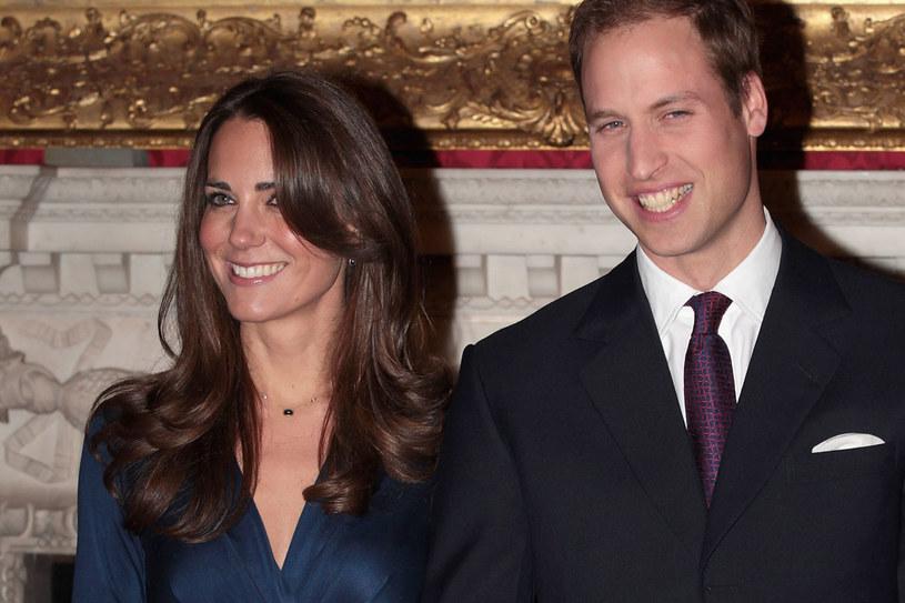 Suknia księżnej Kate zrobiła furorę /Getty Images/Flash Press Media