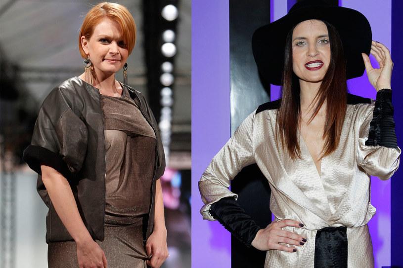 Suknia, którą miała na sobie Daria, przysporzyła nieprzyjemności obu paniom /Andrzej Engelbrecht /AKPA