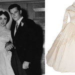 Suknia ślubna Elizabeth Taylor na aukcji