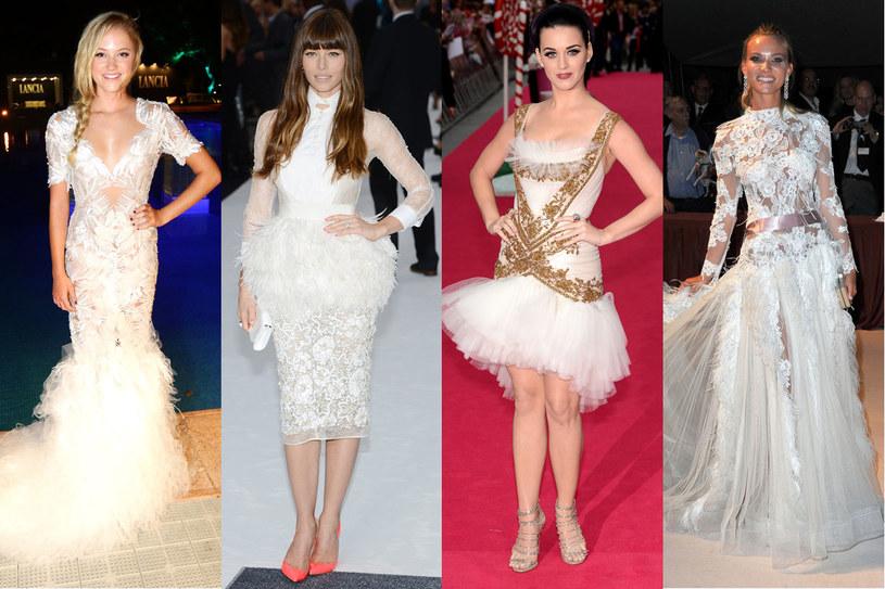 """Suknie à la """"Jezioro łabędzie"""" wyglądają dobrze nie tylko w rozmiarze XS /Getty Images/Flash Press Media"""