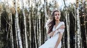 Suknie ślubne muśnięte wiatrem