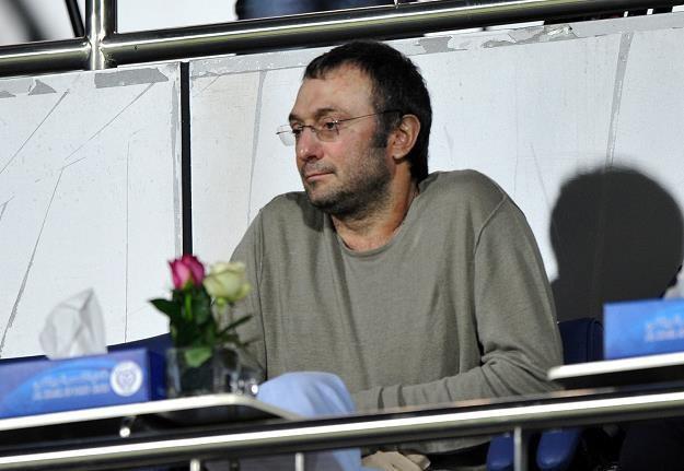 Sulejman Kerimow, miliarder z Rosji (na meczu piłkarzy Anży Machaczkała) /AFP