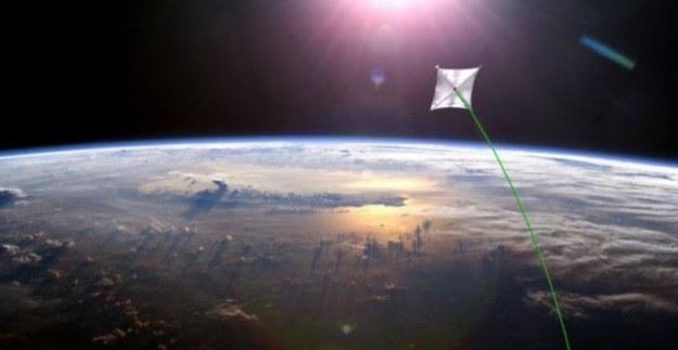 Sunjammer - wizualizacja /NASA
