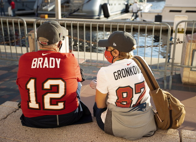 Super Bowl ma w USA wielu fanów /CJ GUNTHER /PAP/EPA