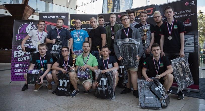 SUPER Game e-sport - turniej w Wejherowie /Michał Jaworski /materiały źródłowe