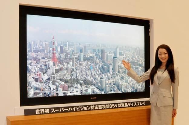 Super Hi-Vision Sharp LCD /materiały prasowe