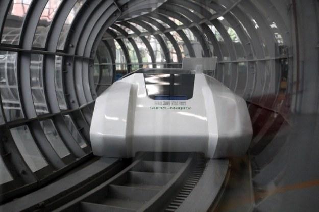 Super-maglev.  Fot. Imaginechina /materiały prasowe