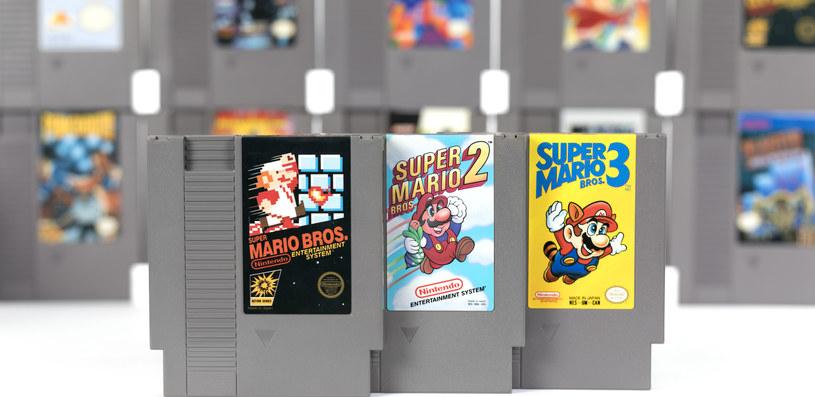 Super Mario Bros. w wersji na konsolę Nintendo Entertainment System warte fortunę /123RF/PICSEL