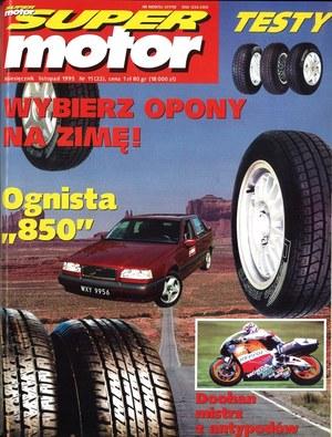 """""""Super Motor"""" nr 11 z listopada 1995 r. /Motor"""