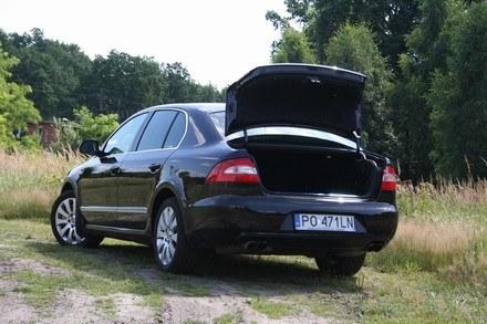 Superb jako sedan /INTERIA.PL
