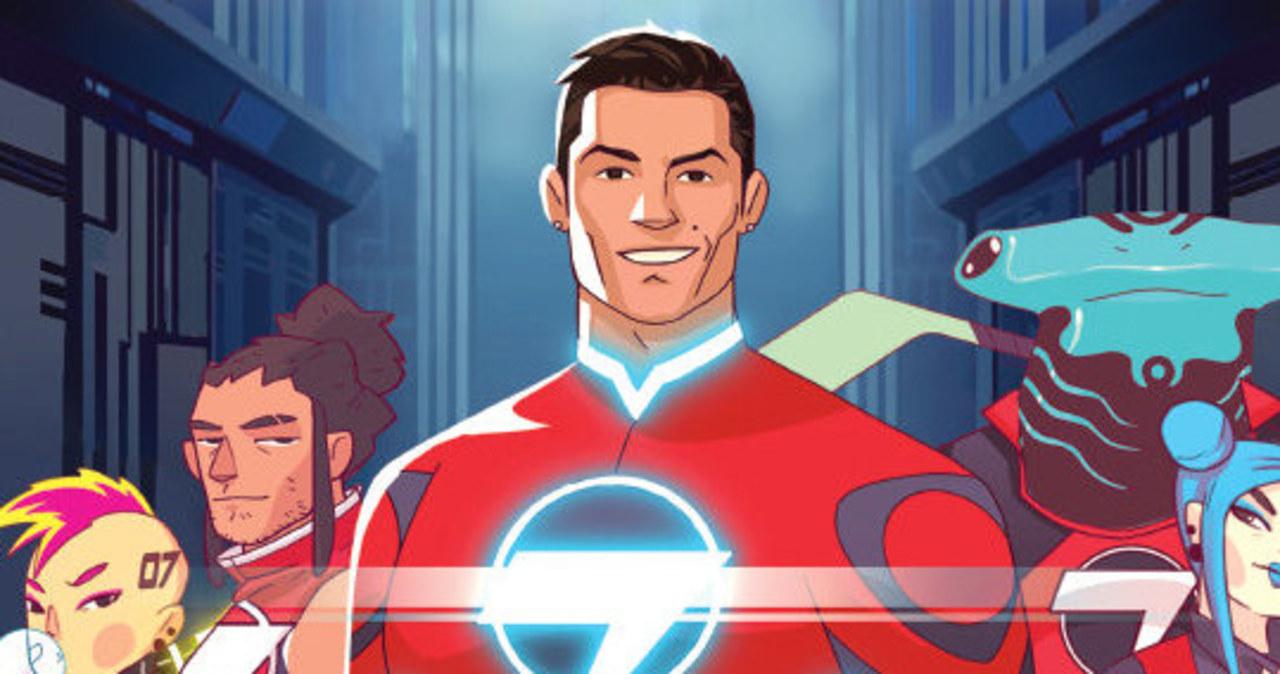 Superbohater Cristiano Ronaldo rusza na ratunek! W listopadzie światowa premiera komiksu