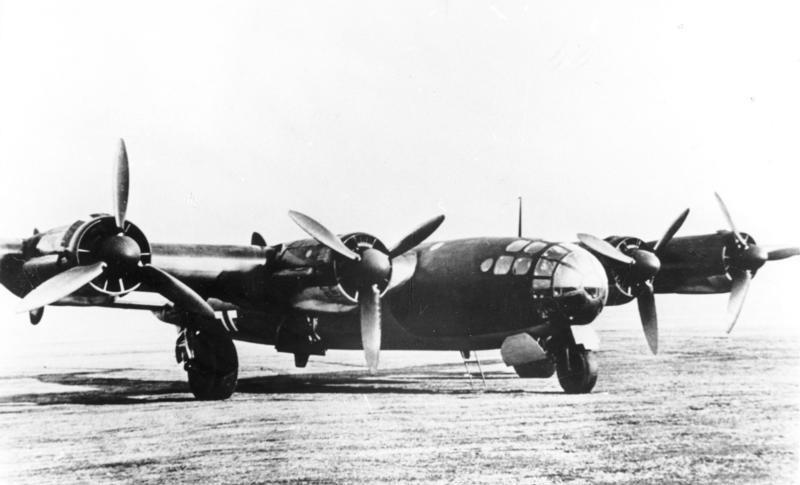 Superbombowiec Me 264 miał mieć zasięg 20 tys. km i udźwig 5 ton /domena publiczna