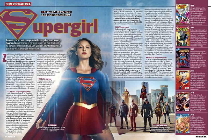 Supergirl w NETFILM /Bauer