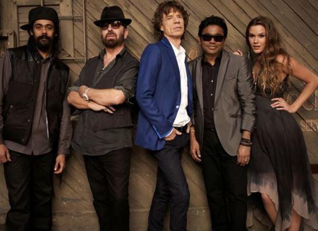 SuperHeavy (Mick Jagger w środku, Joss Stone z prawej) fot. Frank W. Ockenfels / /Universal Music Polska