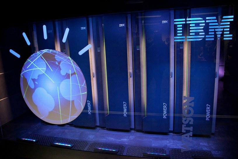 Superkomputer IBM Watson może ratować ludzkie życie /AFP