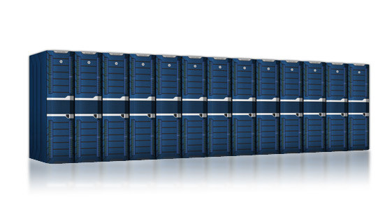 Superkomputer Prometheus - wizualizacja. /materiały prasowe