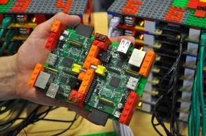 Superkomputer z klocków Lego