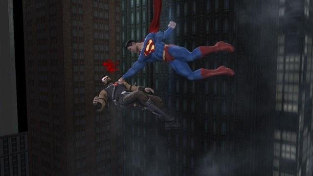 Superman chyba pomylił życiowych przeciwników /INTERIA.PL