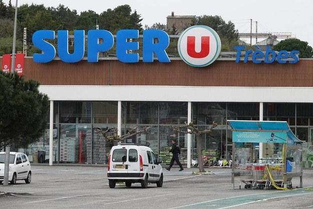 Supermarket w Trebes /Richard Gosselin/Panoramic /PAP/EPA