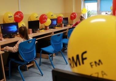 Supernowoczesna pracownia komputerowa! Finał akcji charytatywnej RMF FM w Morągu