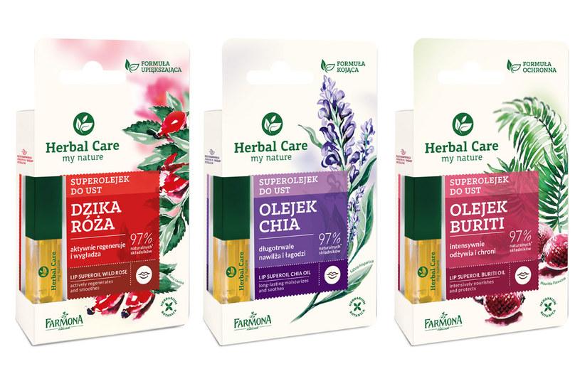 Superolejki Herbal Care /materiały prasowe
