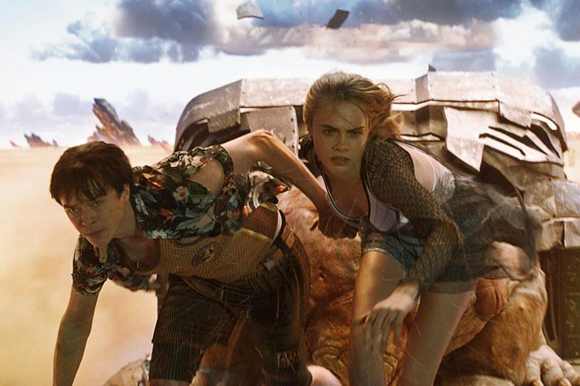 """Superprodukcja """"Valerian i Miasto Tysiąca Planet"""" kosztowała aż 210 milionów dolarów! Odniesie sukces w kinach? /materiały prasowe"""