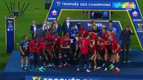 Superpuchar Francji. Lille znowu wygrało z PSG. Tak świętowali triumf! WIDEO (ELEVEN SPORTS)