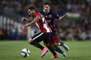 Superpuchar Hiszpanii: FC Barcelona - Athletic Bilbao 1-1. Trofeum dla Basków