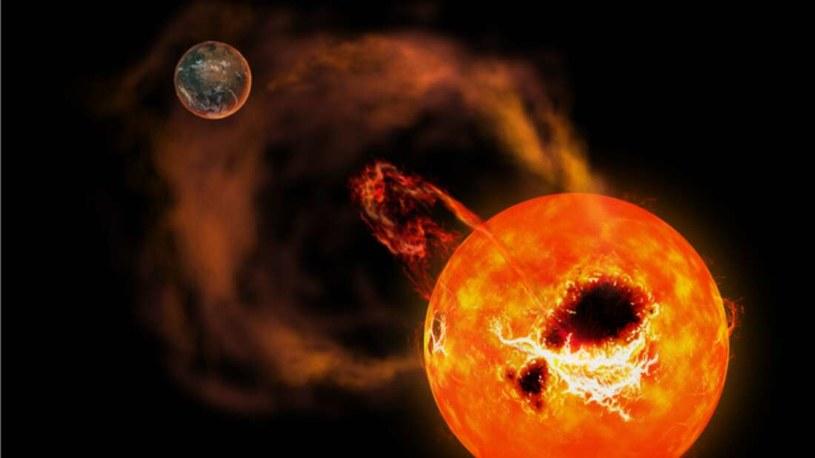 Superrozbłyski na Słońcu mogłyby zniszczyć ziemską infrastrukturę. Tym razem zaobserwowano go na AD Leonis /materiały prasowe